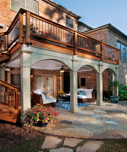 porch and deck details traditional porch atlanta by atlanta