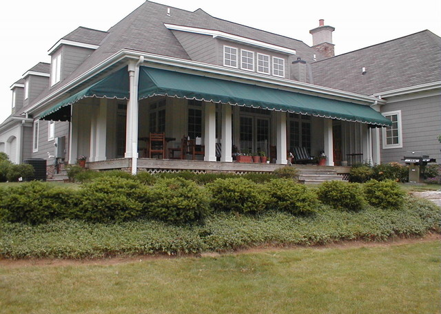 Porch Awnings - Traditional - Veranda - Other - by Kreider's