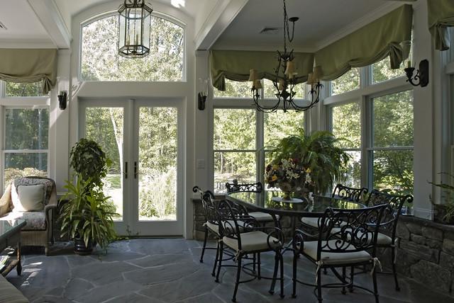 Porch becomes a Garden Room traditional-porch