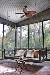 Porch Bed Swing - Traditional - Porch - Atlanta