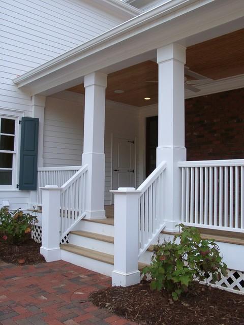 Square Fiberglass Porch Columns : Porch columns traditional other by