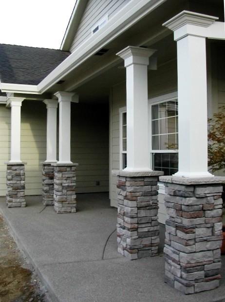 Porch Columns American Traditional