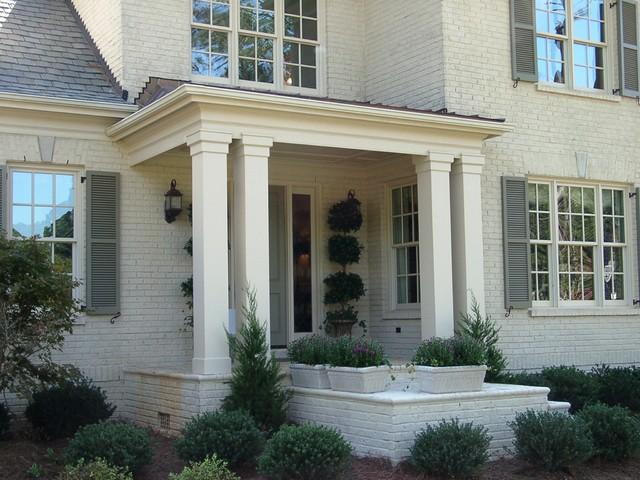 Square Fiberglass Porch Columns : Porch columns traditional miami by