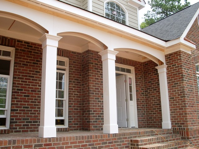 porch columns traditional porch other by worthington millwork
