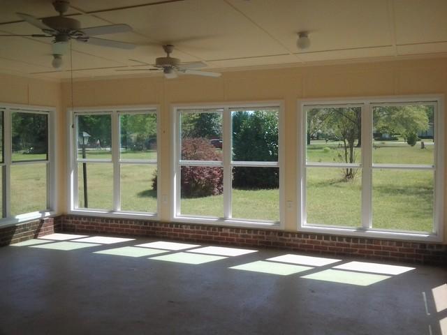 Porch Conversion To Sunroom