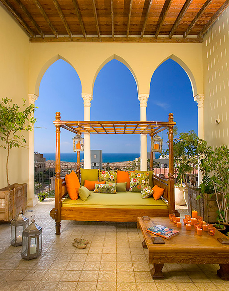 Tuscan porch idea in Other