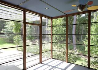 Porch/pergola - Asian - Porch - boston - by Light House Design