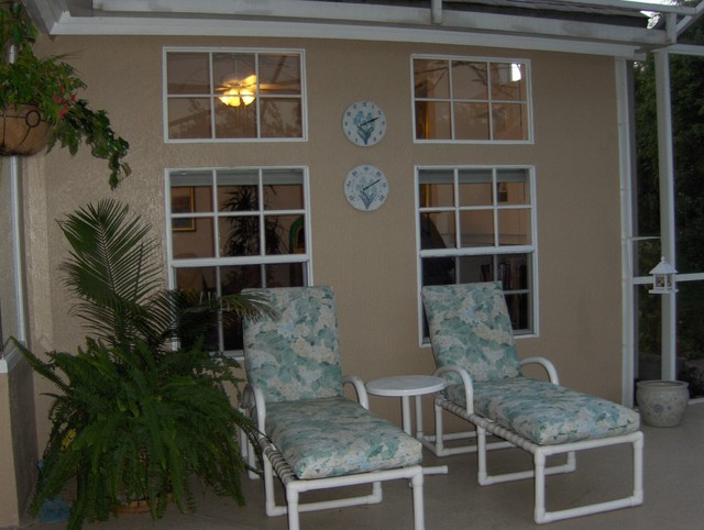 Porch Post Staging porch