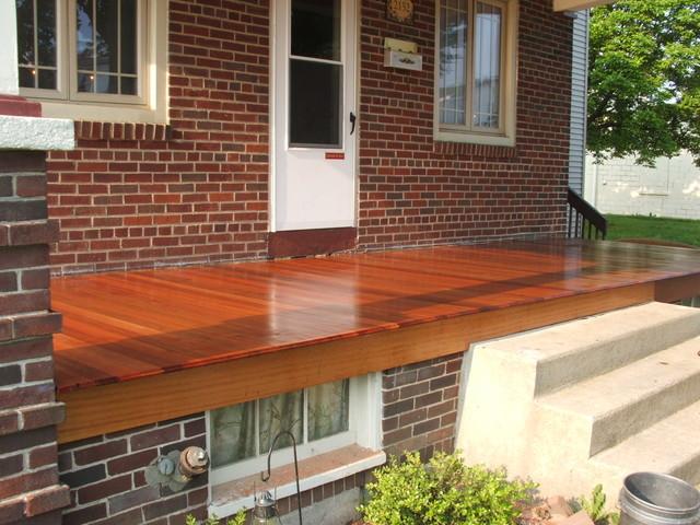 Porch Rebuild traditional-porch