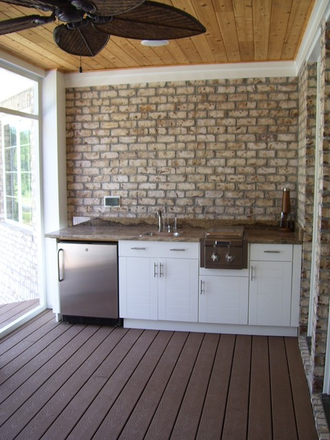 Porch wetbar & kitchenette  porch
