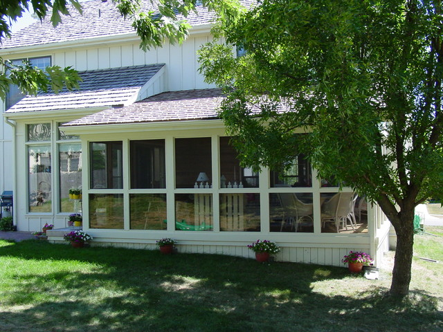 Porches 3 And 4 Season Rooms Traditional Porch