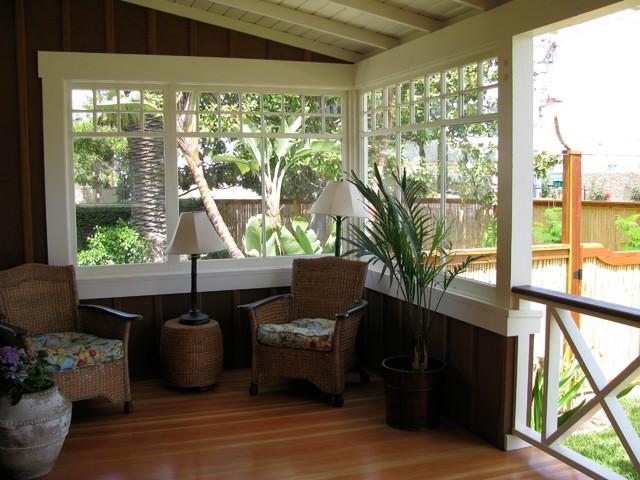 Porches by Flagg Coastal beach-style-porch