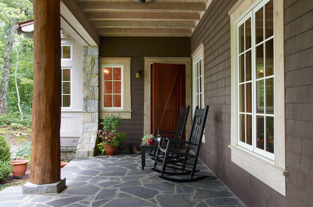 Porches Farmhouse Porch Other By Futral Construction