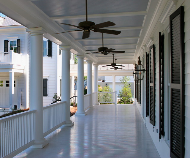 Porches Of The Lowcountry Traditional Porch Charleston