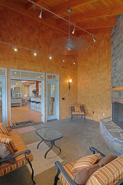 Priest River Residence eclectic-porch