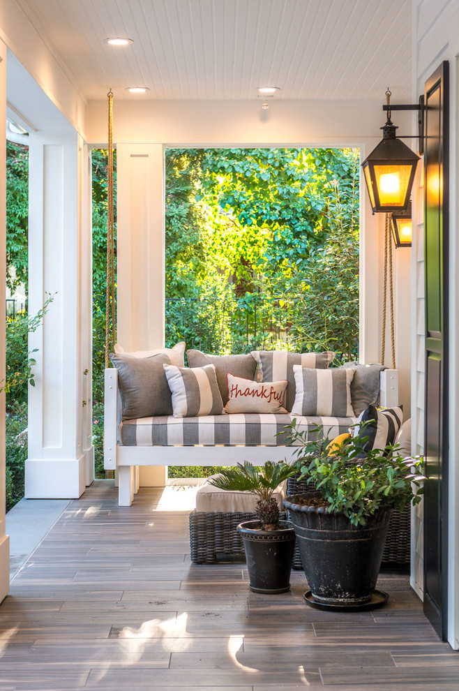 Inspiration for a country porch remodel in San Francisco