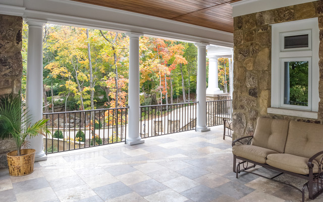 Private Residence traditional-porch
