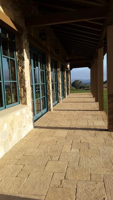 Private Residence Santa Barbara Ca - Craftsman - Porch ...