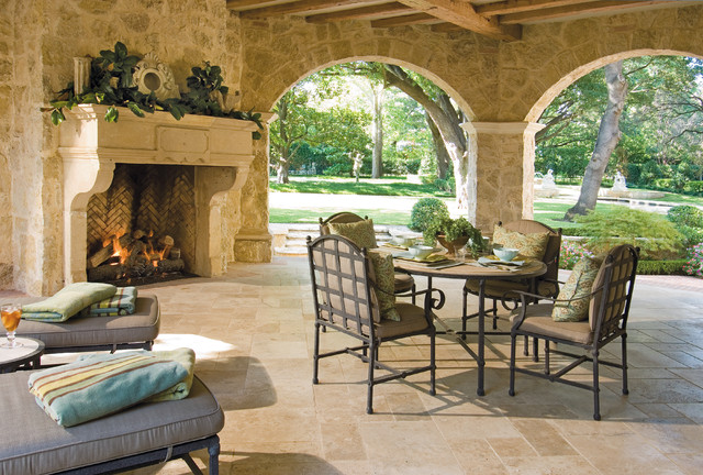 Private Residences - Country French traditional-porch