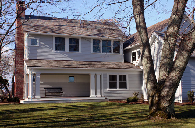 Private Waterfront Residence - Centerville, MA modern-porch