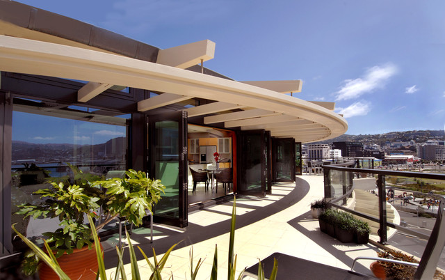 PROJECT: Semple House - 84 Oriental Parade | Penthouse Deck modern porch