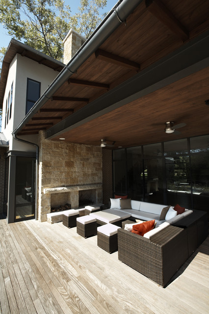 Pulp Design Studios contemporary-porch