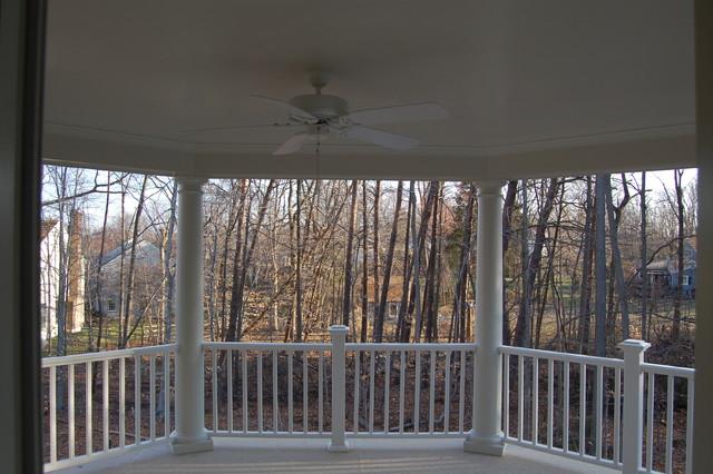 Quaker Custom Homes traditional-porch
