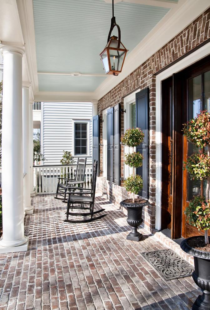 Elegant porch photo in Charleston