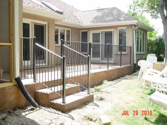Railings traditional-porch