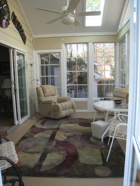 Raleigh 3 Season Room traditional-porch