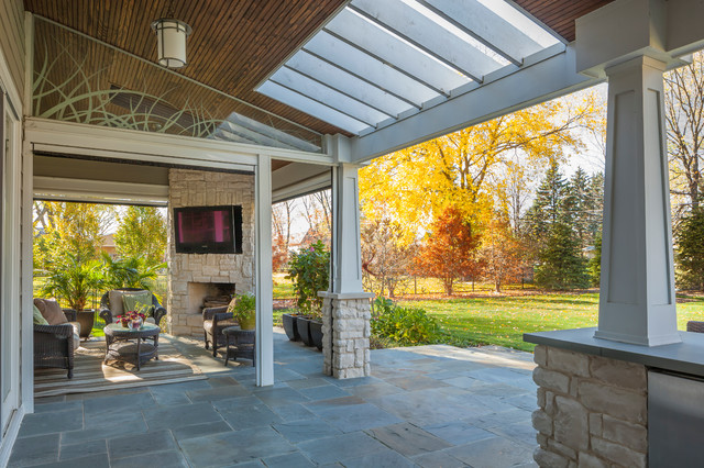 Houzz screen patio photos joy studio design gallery for Traditional porch