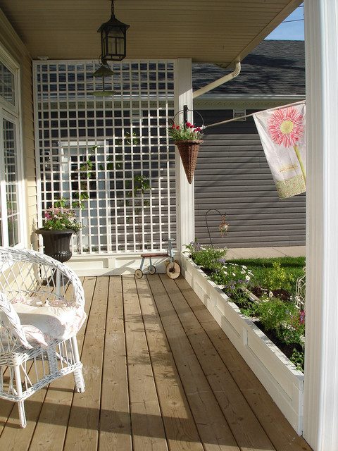 Restyled Home eclectic-porch