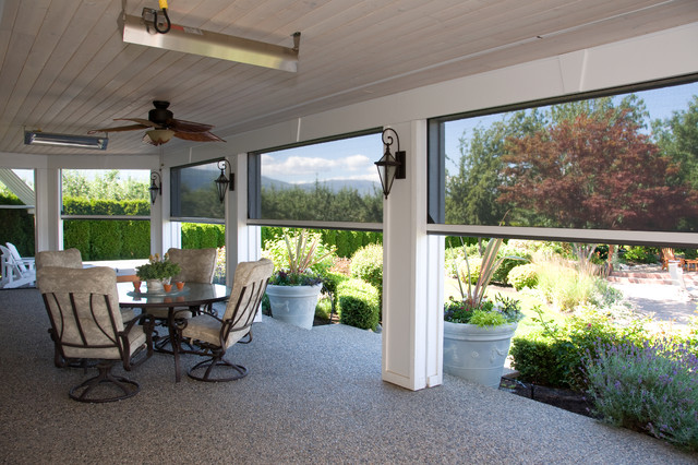 retractable screens help bring the outside in kelowna bc beach rh houzz com retractable patio screens dallas retractable patio screens dallas