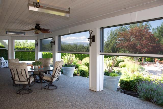 Retractable screens help bring the outside in kelowna bc for Pool design kelowna