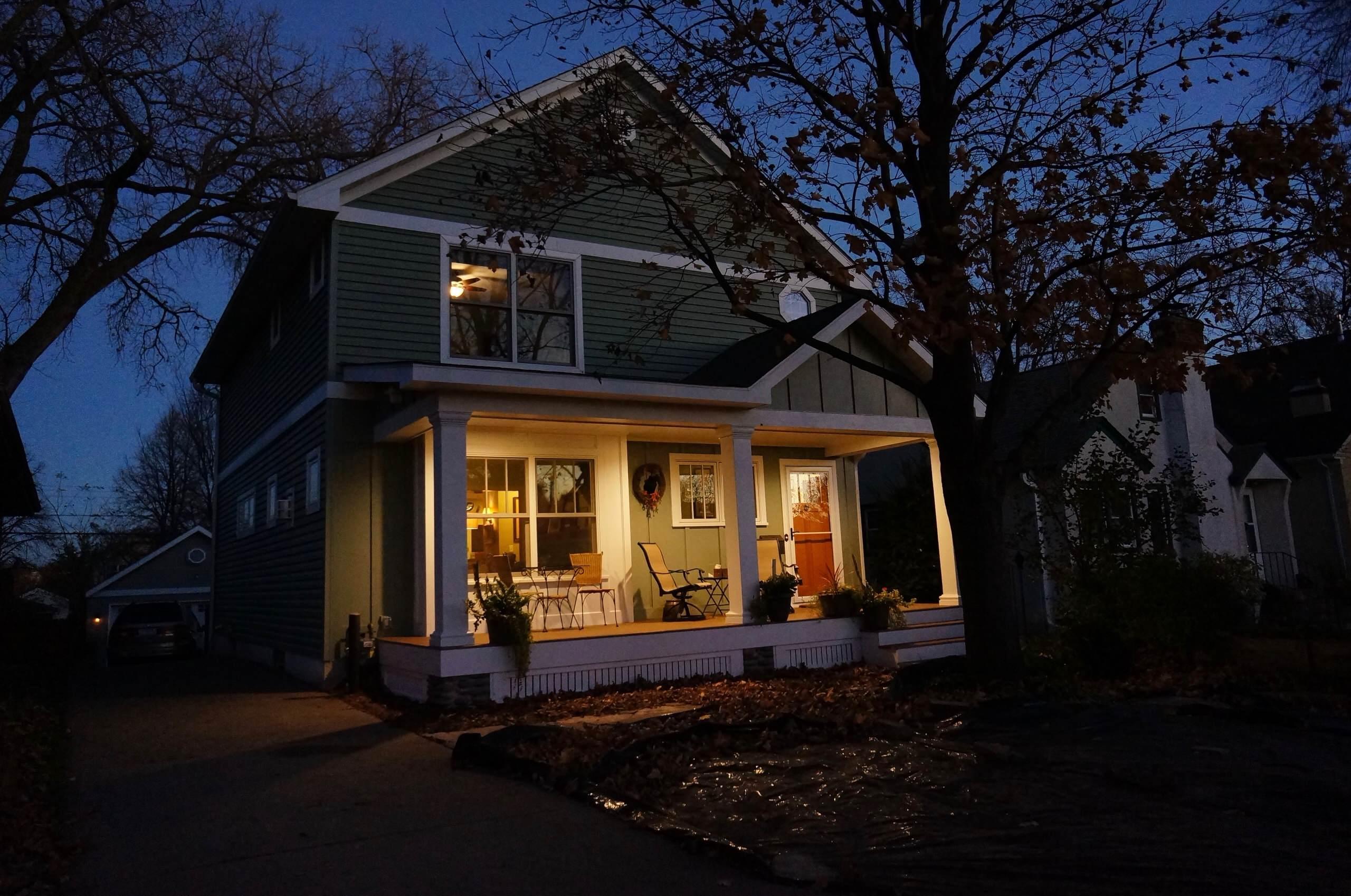 Retro Porch Addition