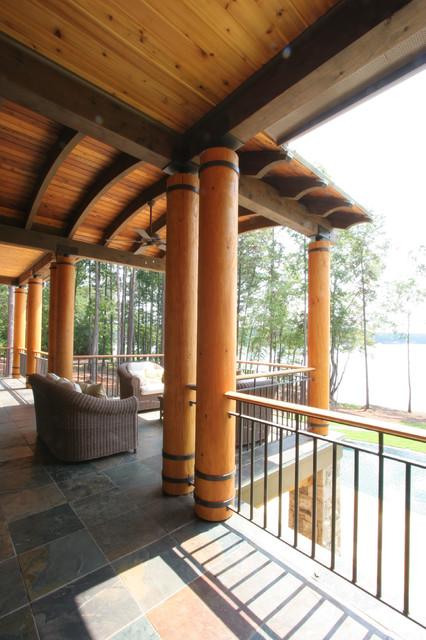 Reynolds Plantation Home contemporary-porch