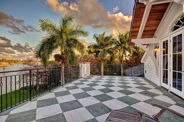 RiverView tropical-porch