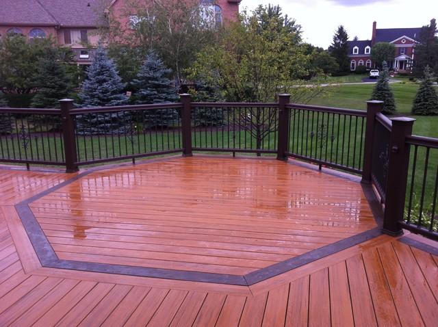 Rochester MI Composite Deck traditional-porch