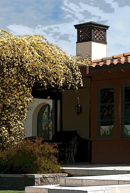Tuscan porch photo in San Francisco