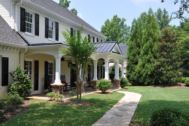 Roswell - Front Porch traditional-porch