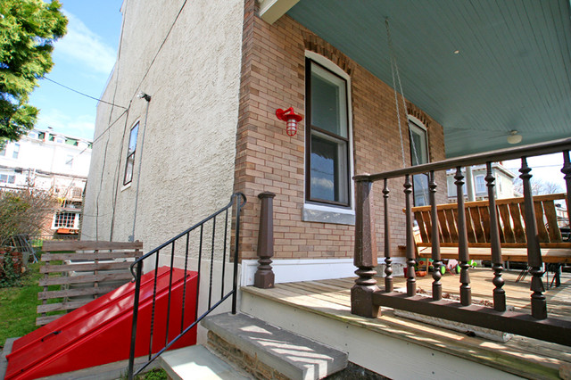 Roxborough, Philadelphia - Home eclectic-porch
