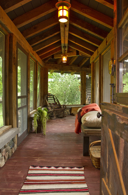 Rush Lake rustic-porch