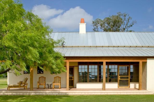 Rustic Hacienda Style Texas Ranch mediterranean-exterior
