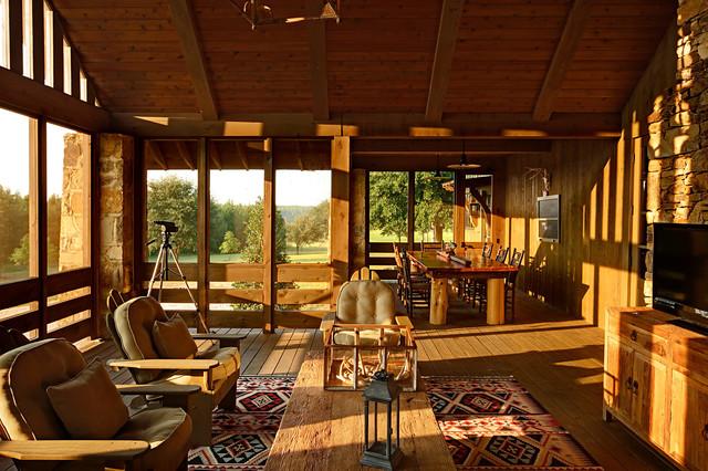 Marsh rustic-porch