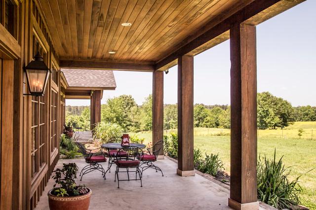 Rustic porch for Rustic porch columns