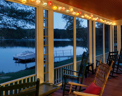 Summer Lake House traditional porch