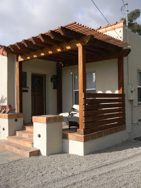 san diego trex deck pergola trellis and fencing. Black Bedroom Furniture Sets. Home Design Ideas
