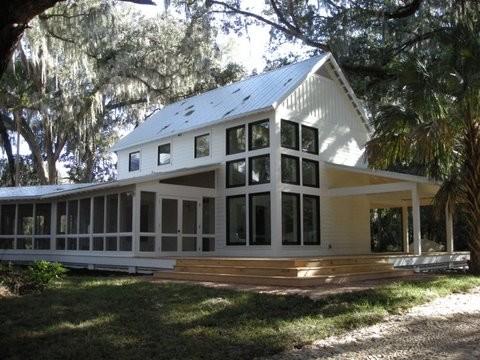 San Mateo Residence porch