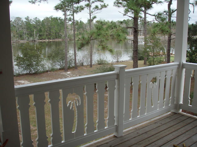 Sawn Balusters Traditional Verandah Miami By