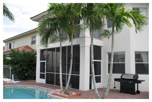Screen Pool Amp Patio Enclosure Tropical Porch Miami